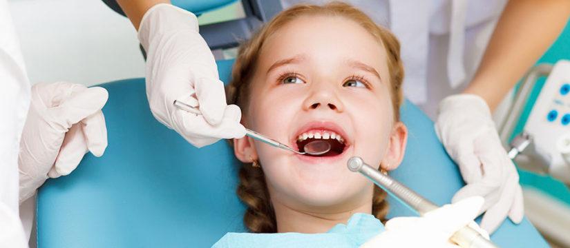 Профессиональная чистка зубов у детей
